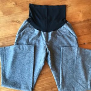 Pea in the Pod Grey wool Maternity Pants